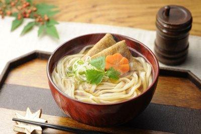 画像1: うどん半生麺・乾麺・しょうゆ・めんつゆセット